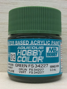 GUNZE HOBBY COLOR H312 SEMI GLOSS GREEN FS34227