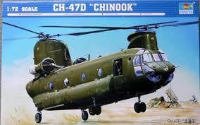 TRUMPETER 1/72 CH-47D CHINOOK