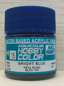 GUNZE HOBBY COLOR H15 GLOSS BRIGHT BLUE