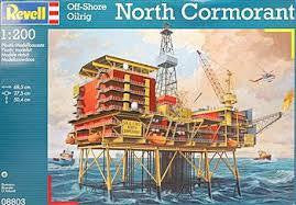 REVELL 1/72 NORTH CORMORANT OIL RIG