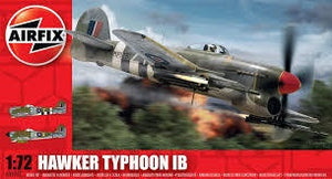 AIRFIX 1/72 HAWKER TYPHOON 1B