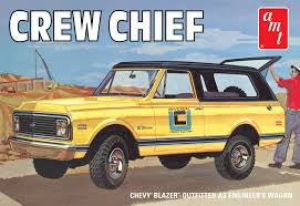 AMT 1/25 CHEVY BLAZER CREW CHIEF