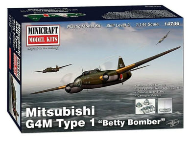 MINICRAFT 1/144 MITSUBISHI G4M BETTY