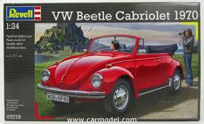 REVELL 1/24 VW BEETLE CABRIOLET
