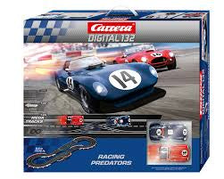 CARRERA 1/32 DIGITAL RACING PREDATORS SLOT CAR SET