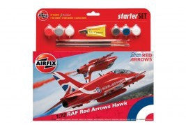 AIRFIX RED ARROWS HAWK STARTER SET