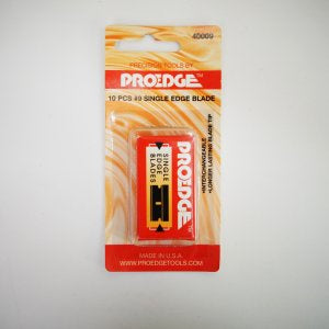 PROEDGE #9 SINGLE EDGE BLADE (10 PCS)