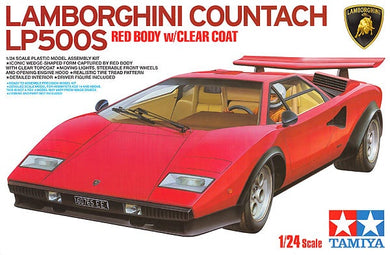 TAMIYA 1/25 LAMBORGHINI COUNTACH LP500S RED BODY