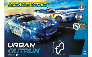 SCALEXTRIC SET URBAN OUTRUN