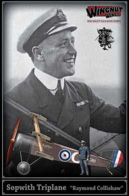 WINGNUT WINGS 1/32 SOPWITH TRIPLANE RAYMOND COLLISHAW