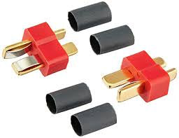 DEANS CONNECTORS 5 PACK OF MALE PLUGS