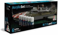 ITALERI MTB & SHIPS PAINT SET