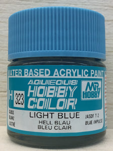 GUNZE MR HOBBY COLOR H323 GLOSS LIGHT BLUE