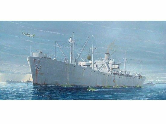 TRUMPETER 1/350 WW2 LIBERTY SHIP S.S. JEREMIAH O'BRIEN