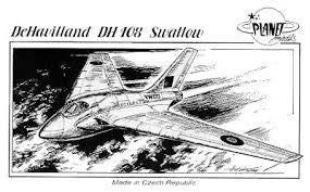 PLANET DEHAVILAND DH108 SWALLOW