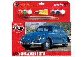AIRFIX 1/32 VW BEETLE STARTER SET