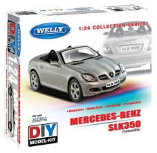 WELLY 1/24 MERCEDES BENZ SLK350 ( DIE CAST METAL KITSET )