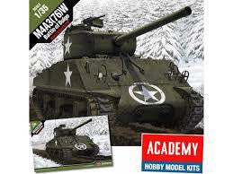 ACADEMY 1/35 M4A3(76)W SHERMAN BATTLE OF THE BULGE