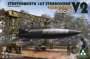 TAKOM 1/35 STRATENWERTH W/ V2 ROCKET