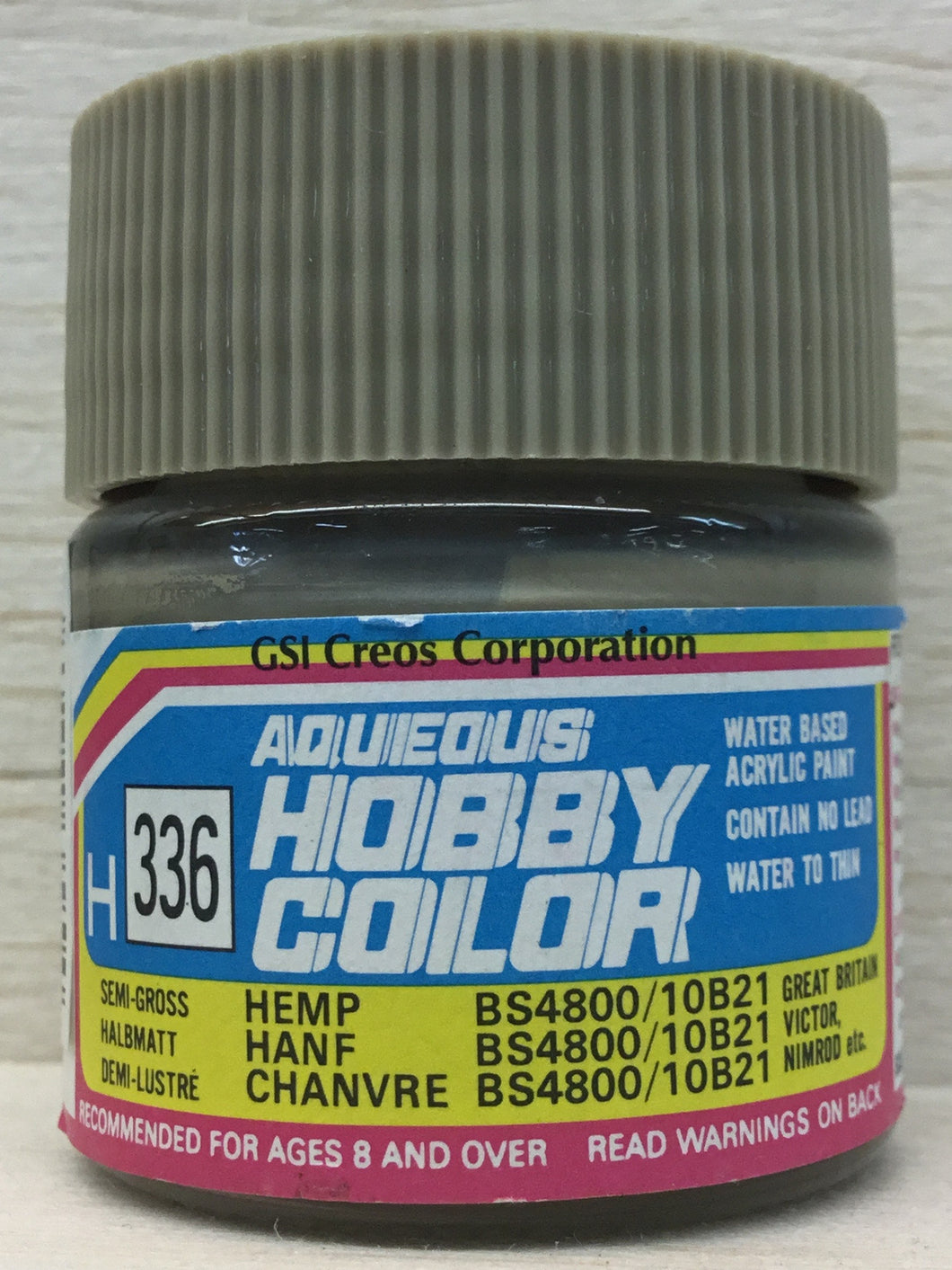 GUNZE MR HOBBY COLOR H336 SEMI GLOSS HEMP BS4800/10B21