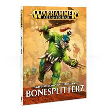 WARHAMMER DESTRUCTION BATTLETOME BONESPLITTERZ RULE BOOK