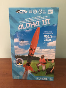 ESTES LAUNCH SET - ALPHA III