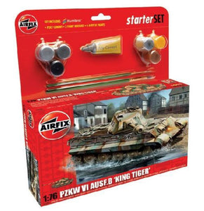 AIRFIX KING TIGER STARTER SET