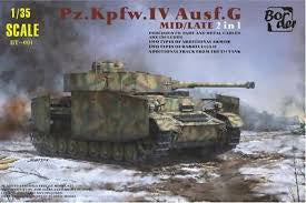 BORDER 1/35 PZ. KPFW. IV AUSF/G MID/LATE