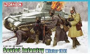 DRAGON 1/35 SOVIET INFANTRY 1941