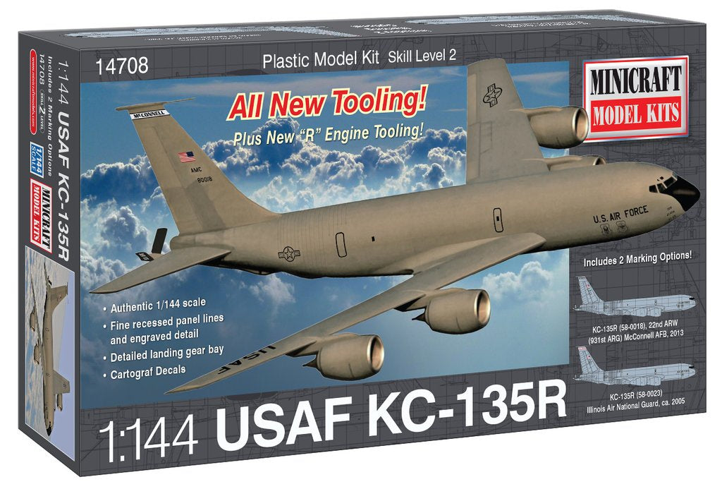 MINICRAFT 1/144 KC135R USAF