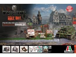 ITALERI WORLD OF TANKS 1/35 HIMMELSDORF DIORAMA SET