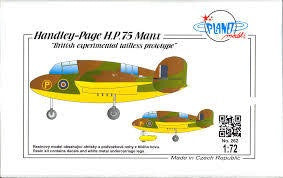 PLANET 1/72 HANLEY PAGE HP.75 MANX