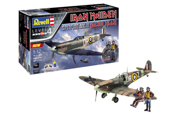 REVELL 1/32 SPIRFIRE MK.II IRON MAIDEN ACES HIGH (INCLUDES PAINT & GLUE)