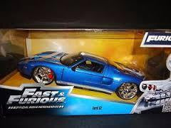 FAST & FURIOUS 1/24 DIECAST FORD GT