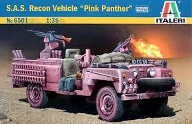 ITALERI 1/35 SAS RECON VEHICLE PINK PANTHER