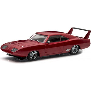 GREENLIGHT 1/18 DIECAST FAST & FURIOUS DOMS 1969 DODGE CHARGER DAYTONA