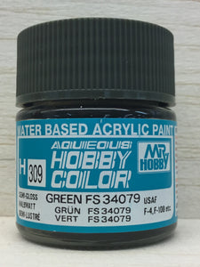 GUNZE HOBBY COLOR H309 SEMI GLOSS GREEN FS34079