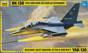 ZVEZDA 1/48 YAK-130 RUSSIAN LIGHT GROUND ATTACK