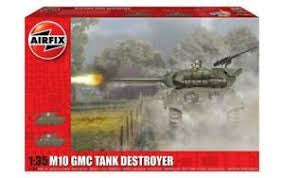 AIRFIX 1/35 M10 GMC TANK DESTROYER