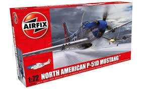 AIRFIX 1/72 NORTH AMERICAN P-51D MUSTANG
