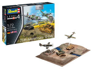 REVELL 1/72 D-DAY 75TH ANNIVERSARY GIFT SET