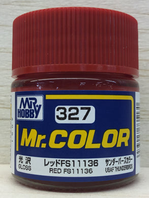 GUNZE MR COLOR C327 GLOSS RED FS11136
