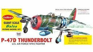 GUILLOWS 1/16 P-47D THUNDERBOLT