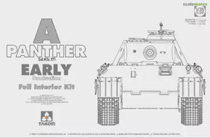 TAKOM 1/35 PANTHER EARLY W/FULL INTERIOR