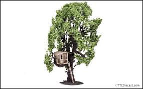 HORNBY TREE W/ TREE HOUSE