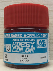 GUNZE HOBBY COLOR H3 GLOSS RED
