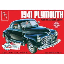 AMT 1/25 '41 PLYMOUTH  COUPE