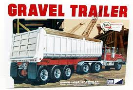 MPC 1/25 3 AXLE GRAVEL TRAILER
