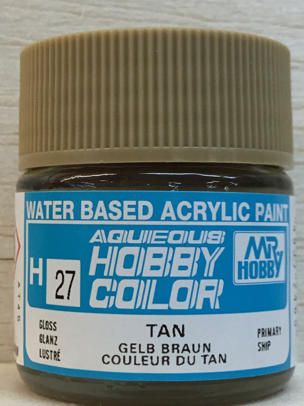 GUNZE MR HOBBY COLOR H27 GLOSS TAN