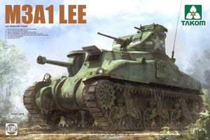TAKOM 1/35 M3A1 LEE US MEDIUM TANK